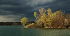 (tozofoto) Tags: travel trees sky lake holiday travelling water colors clouds canon landscape lights europe hungary shadows springtime zala tozofoto