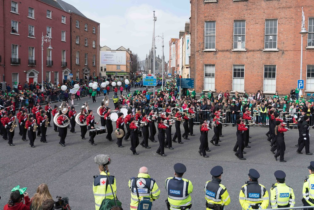 WHITEWATER HIGH SCHOOL WILDCAT MARCHING BAND [PATRICK'S DAY 2016]-112485