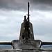 HMS Artful arrives at her Scottish base port HMNB Clyde, Scotland