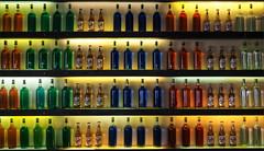 Uno mas cerveza por favor (real ramona) Tags: madrid light beer bar pub bottles cerveza shelf