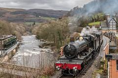 'Foxcote Manor', Llangollen Railway 2 (Explore) (babs pix) Tags: heritage steam llangollen steamengine steamrailway steamtrain llangollenrailway denbighshire foxcotemanor 7822