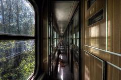 Thank you for traveling with Deutsche Reichsbahn (Sven Grard (lichtkunstfoto.de)) Tags: abandoned train decay derelict verlassen vergessen lostplace