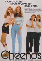 Cheenos 1981 (moogirl2) Tags: vintage retro 80s 1981 seventeen vintageads vintagefashion 80sfashion cheenos