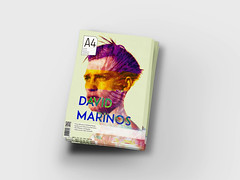 A4 MAGAZINE #1 (DAVID MARINOS) Tags: man david color face hat modern work magazine cool neon artist power body contemporary great young fresh minimal pale a4 simple apollo newage marinos davidmarinos