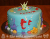 Under the Sea Baby Shower Cake