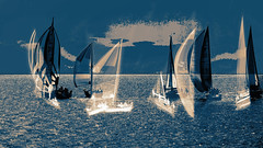 dream sailing (Wendy:) Tags: photoshop boats sailing yachts em odc