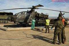 ENTRENAMIENTO NBQ (pabloi) Tags: de army us zaragoza spanish nato saragossa tierra ejercito trident otan 2015 juncture nbq