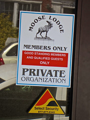 Moose Lodge, Bellefonte, PA (Robby Virus) Tags: sign order pennsylvania moose lodge signage fraternal organization bellefonte loyal