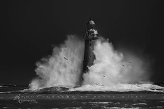 Minot Light (betty wiley) Tags: ocean light sea lighthouse storm coast massachusetts newengland wave coastal southshore scituate cohasset minot bettywileyphotography