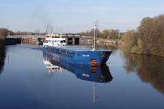 'Nestor' Irlam locks 19th April 2016 (John Eyres) Tags: nestor manchestershipcanal irlam