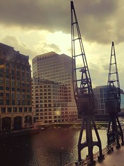 West India Quay - Sorry about the light reflections! (Canveyfornia) Tags: india west london quay wharf canary samsungs7