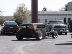 Blackjax Bar 4/10/2016  Rat Rod (Speeder1) Tags: show street cruise two hot classic ford chevrolet car bar rat pennsylvania muscle pa lane tavern rod 55 goons aces willys gasket blacktop eights birdsboro blackjax