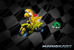 Mario Kart: Yoshi (cecilihf) Tags: bike nintendo shell mario mariokart yoshi koopa koopashell greenshell dontblueshellme