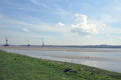 (cooljinny) Tags: bridge construction widnes rivermersey merseygateway
