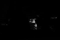 un detail (glookoom) Tags: light blackandwhite bw black france monochrome montagne landscape lumire contraste neige extrieur nuit blanc lampadaire chamrousse rhnealpes