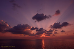Colorful Sunset (kayak_no1) Tags: sunset sea nikon wideangle calm wa maldives deepsouth d800e