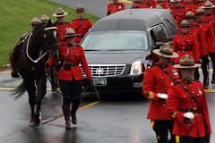 Red Serge Blues (professional recreationalist) Tags: red horse car sarah march crash walk funeral becket killed rcmp procession brucedean professionalrecreationalist crowds speeding hearse victoriabc mourn serge cst regiment colwood riderless regimental redserge sarahbecket