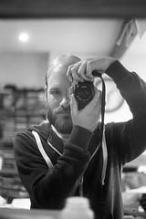 x300 selfie (tercrossman87) Tags: film home minolta 400 push epson 800 development x300 119 v550 lc29 kentmere ilfotec