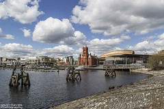 cardiff bay (Jason Davies Photography) Tags: trees sky tourism water wales clouds canon buildings landscape boats outdoors photography cardiff cardiffbay pierhead capitalcity canonphotography stdavidshall visitwales 1200d jasondaviesphotography canon1200d