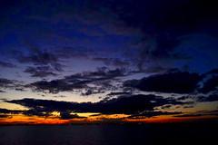 Dublin Bay (Mark Waldron) Tags: sunset sky dublin clouds bay sony 28mm after nikkorh a7 nightfall f35