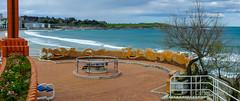 Segunda playa del Sardinero, Santander. (Airbeluga) Tags: panorama espaa paisajes naturaleza olas santander cantabria marcantbrico piquio