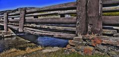 Broken_Beam-Q1604sm (Guyser1) Tags: bridge river landscape scenic yellowstone hdr fireholeriver yellowstonepark canoneos40d