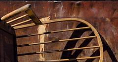 Dumpstered (JeffStewartPhotos) Tags: toronto ontario canada broken dumpster junk photowalk unwanted discarded parkdale trashed junked endofdays thrownout unusable unseated torontophotowalk topw theendofdays torontophotowalks topwpkdl