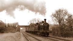 Evening goods (Duck 1966) Tags: bridge goods steam locomotive 3f britishrailways gcr jinty woodthorpebridge timelineevents