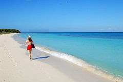 Maria la Gorda - Cuba  (beatricebiruspoli) Tags: blue sea sun beach me nature girl wow landscape sand waves cuba paisaje jungle shore tropic
