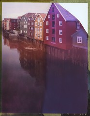 Trondheim Houses (Bastiank80) Tags: houses reflection polaroid trondheim 79 roidweek bastiank