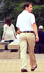(ManontheStreet2day) Tags: boy ass belt wallet butt twink chinos