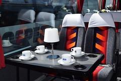 D51LWW  Sharpes, Nottingham (highlandreiver) Tags: nottingham bus volvo coach interior rally lancashire van blackpool coaches lww hool alizee d51 sharpes b10m d51lww
