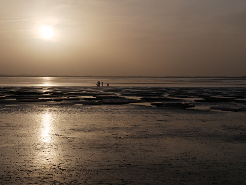 Sunset on the Baie de Somme