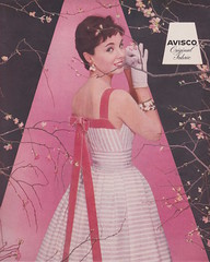Avisco 1956 (moogirl2) Tags: retro vogue 50s 1956 supermodels vintageads vintagefashions vintagevogue avisco 50sfashions ritaegan