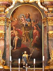 Lengenfeld Seitenaltar (edgarhohl) Tags: saint bayern sebastian gemlde hlsebastian