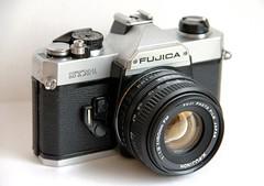 Fujica STX-1 (Mattia Camellini) Tags: explore vintagecamera cameraporn manuallens fujicastx1 canoneos7d mattiacamellini canonefs18135mmf3556is fujinon1950mm