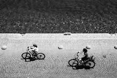 DSC_0825.jpg (cptscarlett78) Tags: blackandwhite bicycle nikon town scarlett sea castle nikon castle tom greece knights harbour aegean d7100 d7100 dodecanese kos kos neratzia