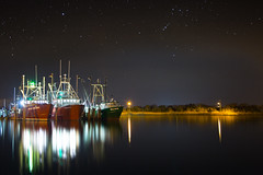All in a day's work (Jason Gambone) Tags: ocedan vikingvillage wallart jasongambone sunset bay stars newjersey boats canon canon6d reflection barnegatlight night nightsky fishingpier dusk photographer fishingboats fishing nj fishingdock sky framedart jasongambonecom photography atlanticocean barnegat