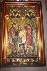 Christian martyrdom (quinet) Tags: church germany kirche glise 2012 castleroad burgenstrase