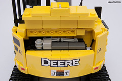 10_EPA_FT4_EU_Stage_IV_engine (LegoMathijs) Tags: road scale yellow john chains team model lego display technic dozer blade snot deere compact excavator moc 75g foitsop decalls legomathijs