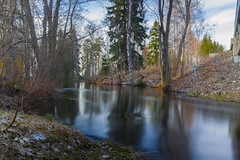 The Summer is just around the corner (Toni Saarenp) Tags: longexposure colors canon finland river eos spring little outdoor smooth filter nd kit waterscape ndfilter kangasala kitlense 700d