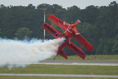 daredevil (History Rambler) Tags: airplane marine northcarolina airshow stunt biplane fearless acrobatic 2016 cherrypoint