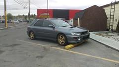 Subaru WRX (dave_7) Tags: car turbo import wrx jdm rhd subauru