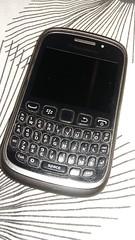 Old Blackberry On Black And White (Gary Chatterton 2.90 million views) Tags: blackandwhite phone blackberry mobilephone