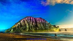 Lone Surfer (bay area man) Tags: ocean california sunset sea beach water colors rock clouds landscape bay coast nikon pacific outdoor