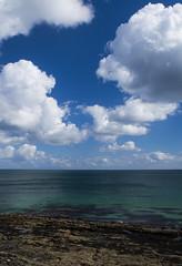 Cornish Sea & Clouds (chris.willis3) Tags: blue green clouds nikon aqua bright nikond5300 chriswillis3