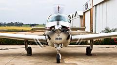 PP-JAQ (MuBasseto) Tags: canon airplane eos airport beechcraft bonanza a36