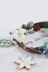 "手作圣诞花环 (EndlessJune) Tags: beautiful cookies 50mm nikon handmade royal garland wreath gift present icing merry chirstmas merrychristmas royalicing ""nikon d7000"""
