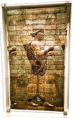 Babylonian Archers -   (canaanite98) Tags: berlin history museum germany deutschland gate iraq samsung baghdad syria civilization walls archers babylon iraqi ishtar babel assyria s6 babylonian uruk assyrians mousl