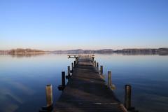 Wörthsee (CA_Rotwang) Tags: winter lake water germany bayern deutschland bavaria see wasser oberbayern sonne wörthsee